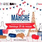 Le Marché el domingo 25 en Plaza Francia