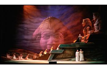 Ópera Aída en el Teatro Colón