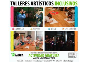 TALLERES ARTÍSTICOS INCLUSIVOS de ASDRA