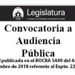 Ley inicial publicada en el BOCBA 5449 del 4 de septiembre de 2018 referente al Expte. 2253-J-2018.