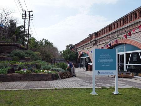 Estación Federal, en Palermo