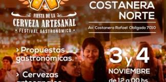 RE INAUGURA EL PATIO COSTANERA NORTE CON LA FIESTA DE LA CERVEZA ARTESANAL
