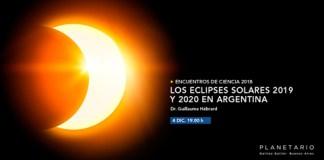 Conferencia en el Planetario sobre Eclipses Solares 2019-2020