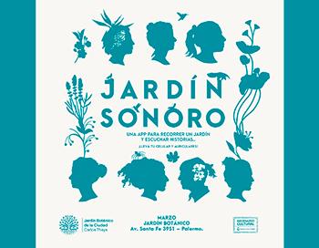 Resultado de imagen para Jardín sonoro una experiencia teatral que tendrá lugar en el Jardín Botánico