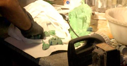 Allanamiento de un domicilio en Palermo donde se vendía droga