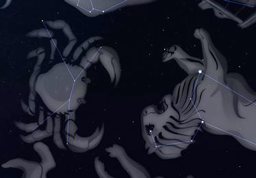 Cielo de Otoño en el Planetario
