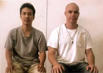 Liang de Hua y Adam Mizner