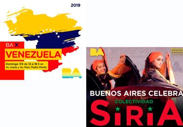 Ba Celebra a Venezuela y a Siria