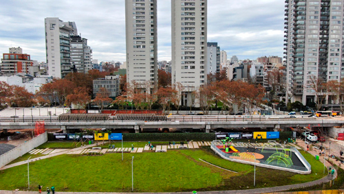 Parque Ferroviario Palermo - Etapa 1 Inaugurada