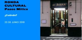 El domingo 23 de junio Ronda Cultural Paseo Mítico en el barrio de Villa Crespo