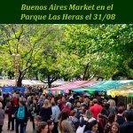 Buenos Aires Market llega al Parque Las Heras el 31 de agosto
