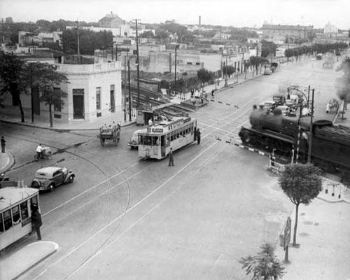 Tramway - Av. Santa Fe y Dorrego