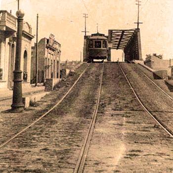 Tranway Lacroze Puente Soler en Palermo