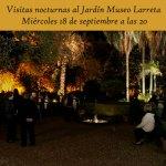 Visita Nocturna al Museo Larreta