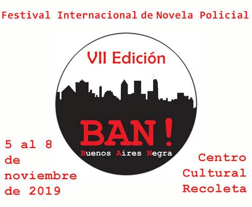 Resultado de imagen para El Festival Internacional de Novela Policial BAN! llega al Centro Cultural Recoleta