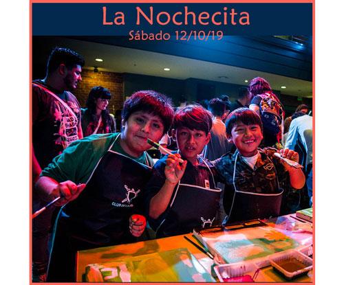 """Primera edición de """"La Nochecita"""" el sábado 12 de octubre"""