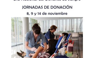 Jornadas de donación por el Día Nacional del Donante de Sangre