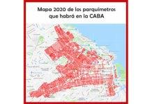 Mapa parquímetros 2020