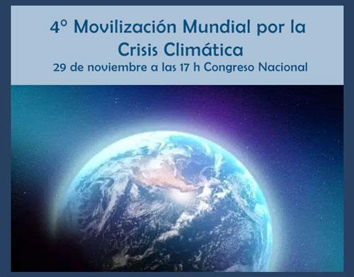 Movilización 29N por Crisis Climática