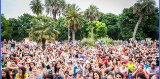 Fiesta por los 35 años de Barrios Creativos en el Parque Centenario