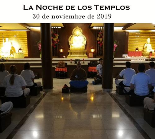 La Noche de los Templos es el 30 de noviembre
