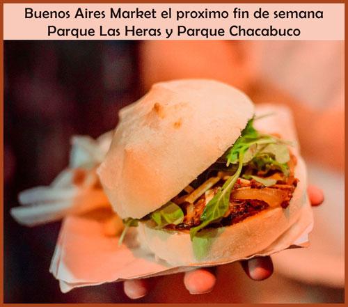 Buenos Aires Market en Parque Las Heras y en Parque Chacabuco