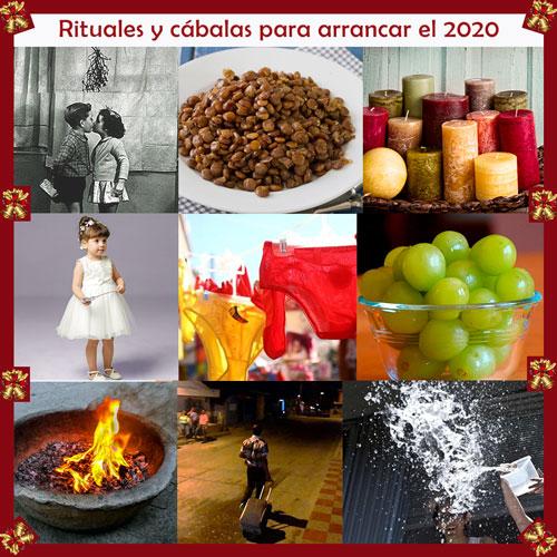 Rituales y cábalas para arrancar el 2020