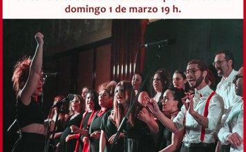 Concierto Solidario en Parque Centenario el domingo 1 de marzo
