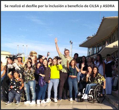 Desfile por la inclusión a beneficio de CILSA y ASDRA