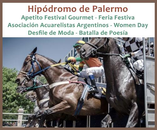 7 de marzo en el Hipodromo de Palermo
