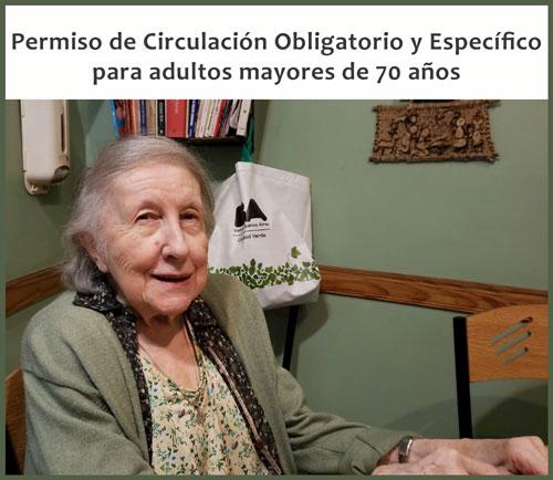 Los mayores de 70 años deberán tener un permiso de circulación parasalir a la calle