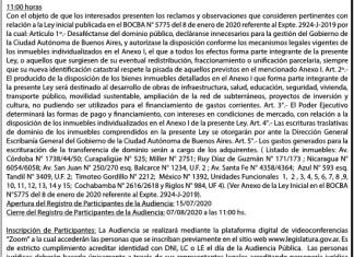 Audiencia Pública del 12/08/20 Expediente 2929-J-2019