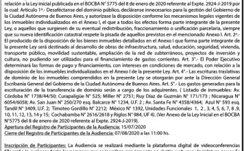 Audiencia Pública del 12/08/20 Expediente 2929-J-2019