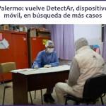 DetectAr movil nuevamente en Palermo para buscar más casos