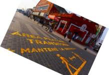 Áreas Peatonales transitorias