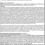 Convocatoria a Audiencia Pública del 27-11-2020 14.00 hs.