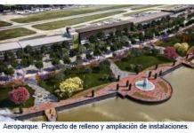 Aeroparque. Proyecto de relleno y ampliación de instalaciones.