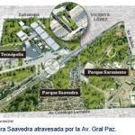 Ex Chacra Saavedra atravesada por la Av. Gral Paz.
