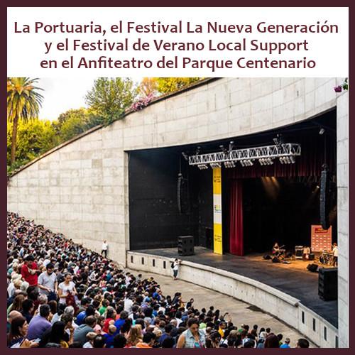 Música gratis al aire libre en el Anfiteatro del Parque Centenario