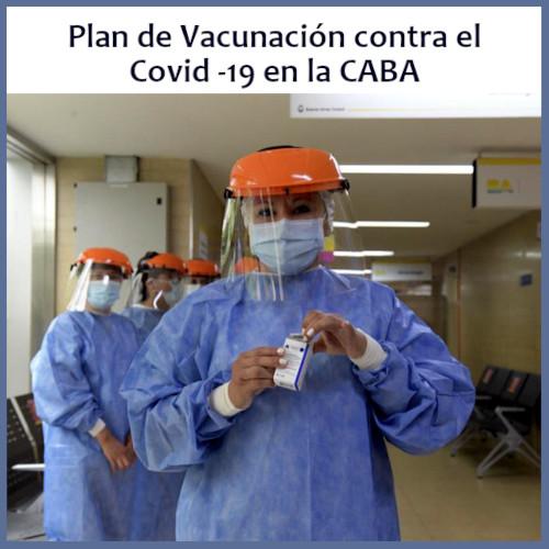 Plan de Vacunación contra el Covid-19 en CABA