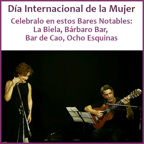 Celebrá el Día Internacional de la Mujer en los Bares Notables
