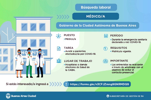 Búsqueda de médicos en CABA