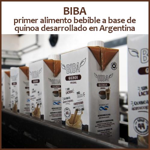 BIBA primer bebida a base de quinoa