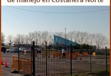 Nueva pista en Costanera Norte para el examen práctico de manejo