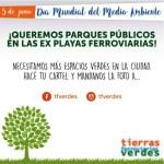 05 junio 2021 / Día Mundial Medio Ambiente / PARQUES PÚBLICOS EN PLAYAS FERROVIARIAS /