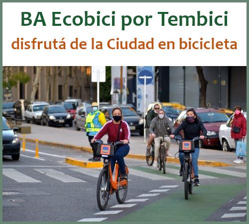 """Las estaciones Ecobici ya están disponibles en la nueva app """"Tembici"""""""