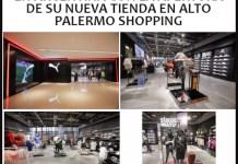 Puma abre su nuevo local en Alto Palermo Shopping