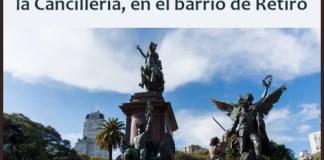 El Monumento a San Martín volvió al barrio de Retiro en un nuevo aniversario