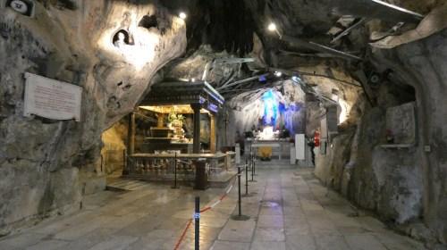 Grotta di Santa Rosalia sul Monte Pellegrino