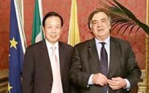 Relazioni tra Sicilia e Cina